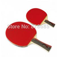 2PCS-Butterfly tbc-303 Table tennis Racket Long grip handle short grip handle pingpong Racket-Free shipping