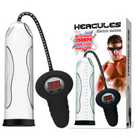 350 KPA hercules penis pump, auto penis pump enlargers with LED indicator