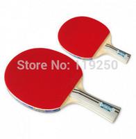 HOT-Butterfly tbc-403 pingpong Racket Table tennis Racket Long grip handle short grip handle