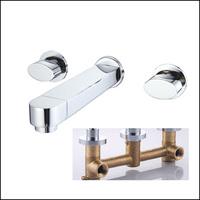 Brass Sink Wall Bathroom Faucet Handles For Bathroom Basin Mixer Water Tap torneira para pia banheiro torneira lavabo torneiras