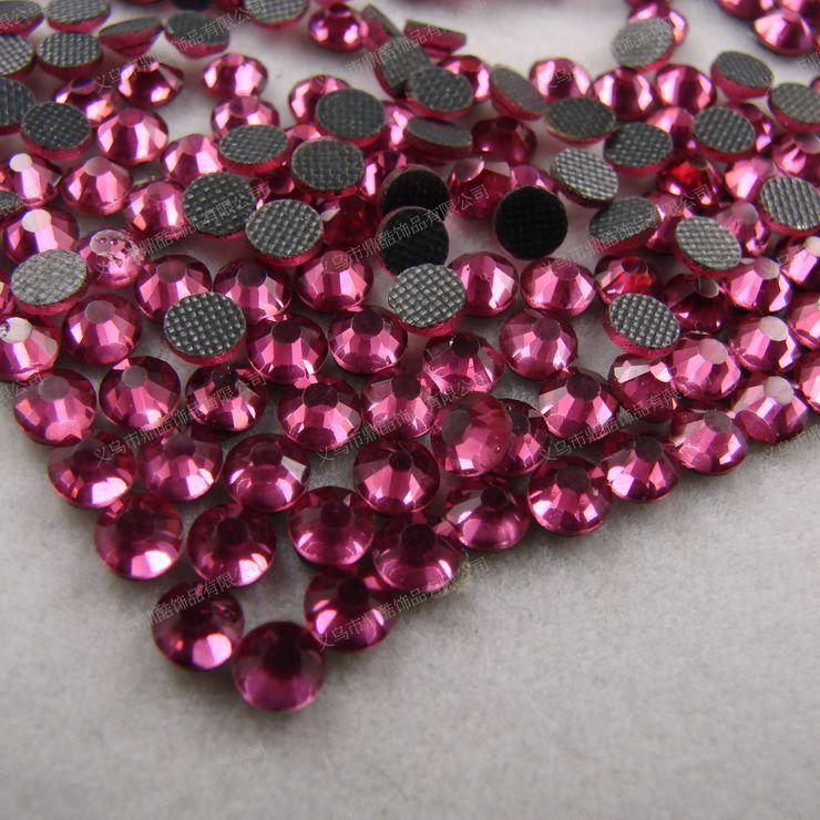 Free shipping 1600 PCS resin rhinestone Flat drill DIY jewelry, clothing, wine, furniture /red SS4 1.5mm(China (Mainland))
