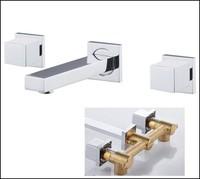 Brass Sink Basin Faucet Handles For Bathroom Mixer Water Tap torneira para pia banheiro torneira lavabo torneiras de parede