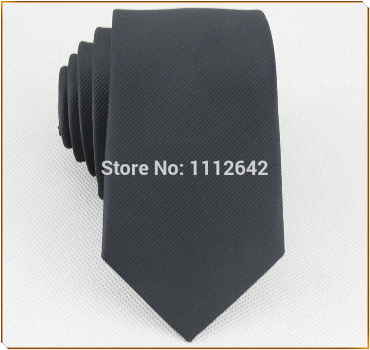 BOY necktie/100% polyester/fashion classic black stripe pattern desgin/Men's clothing accessories narrow tie free shipping(China (Mainland))