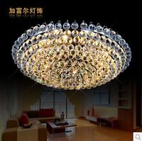 Lustres De Sala New Promotion Plated 9 Led Ceiling Light 2014 Minimalist Living Room Atmosphere Bedroom Lamp Crystal Ceiling