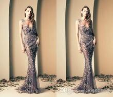 wholesale lace evening gown