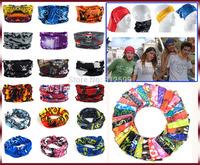 Outdoor Sports Magic Versatile Seamless Tube Headscarf Headband Balaclava Mask Head Wrap Neck Scarf Elastic Warmer Anti Sunburn