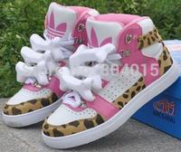 Han edition tide shoes tongue sneakers glow street 2014 free shipping fan bingbing, eason chan bones leopard grain shoes