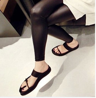 Summer new style 2014 women Harajuku style VCRUAN Western style thick crust sandals open toe flat sandals,fashion ladies' flats