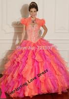 Free Shipping 2014 vestido de novia Bridal Dress Court Train Lace Cap Sleeve Ball Gown color Wedding Dresses Style 5318