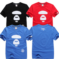 Seiko Men's Tide brand version AAPE avatar  Nightclubs cotton T-shirt  FREE SHIPPING