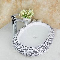 TD30179909 Classic Nice Price Chrome Tap Leopard Excellent Real Estate Ceramic Basins Bathroom Fixtures Basin Sink Faucet Set