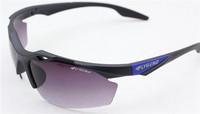 2PCS\LOT 3116F-black+blue Unisex Fashion Sport Cycling Glasses Fashion Driving Mirror sunglasses Free Shipping