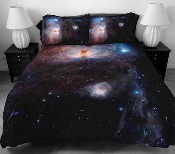 Дизайн постельных принадлежностей из домашнего декора идей комплект 2 стороны печать 3D визуальный эффект в небо постельное белье с 2 тела подушка чехол