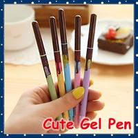[FORREST SHOP] Kawaii School Stationery Cute Chocolate Bar 0.5MM Black Gel Pen / Office Supplies Novelty Pens UP-7951