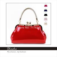 2014 New women leather messenger bags famous brand designers girls diamond handbags hasp totes evening party bag phone purses