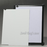 2D Sublimation Blank Hard Plastic Cases with Aluminum inserts and 3M Glue for ipad 2/3/4