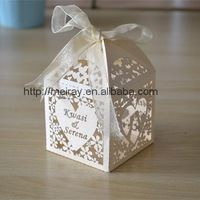 """Shipping to Brazil by ChinaPost 130pcs """"Kiss heart"""" wedding favors candy boxes"""