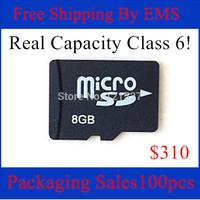 2014 shenzhen Micro SD cards whosales  Free shipping EMS 8GB MicroSD Micro SD HC Transflash TF CARD 8gb