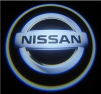 Free Shipping 4TH Generation Welcome Door Light/ Ghost Shadow Light/ Car Door Light NISSAN/Auto LED Badge Logo Lamp