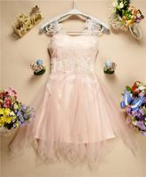 2014 Sweetheart Bridesmaid Dress Lace Floral Beading Princess Dress Apricot White Pink Luxury Short Bridesmaid Dress