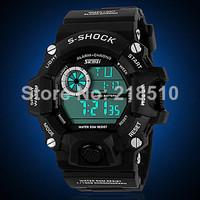 (SKMEI) 50M Waterproof Digital Watch Quartz Analog Watch Wristwatch Timepiece for Men Male Boy