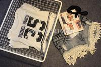 Preppy style zipper soft girl digital pattern baseball short design summer t-shirt