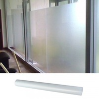 High Quality Roll Frosted White Privacy Glass Window Film 0.5x3m