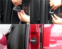 Car Door Lock Decoration Cover Door Lock Cover Sticke for Buick Encore Opel Vauxhall Mokka ASTRA J 2013 2014 4pcs/lot