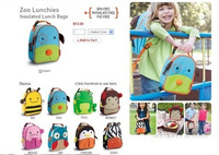 11 Hot Design Muti-Function Baby Children Insulated Lunch Bag Cute Animal Lunch Box Kid Boy Girl Bags  356piece