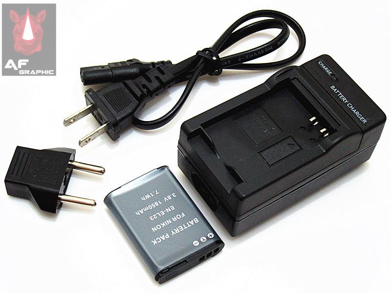 Aliexpress.com : Buy B36zs Battery Pack EN EL23 3.8v 1850mAh and ...