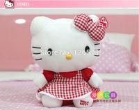 25cm orange hello kitty plush hello kitty birthday present soft toy kids toy girlfriend's gift one piece free shipping