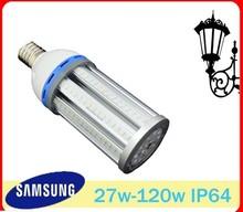 E40 27W LED Corn light Samsung 5730 LED High Quality 27W 360 degree LED Corn Street Light toE40 E39 E27