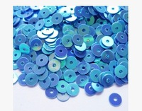 High quality 4mm colorful sequins diy craft sequins material brilliantly coloured auxiliary material accessories 2000pcs/lot