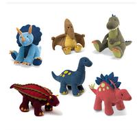Foreign trade dinosaur plush cloth toys plush doll genuine dinosaur birthday holiday gift to send children home ornaments