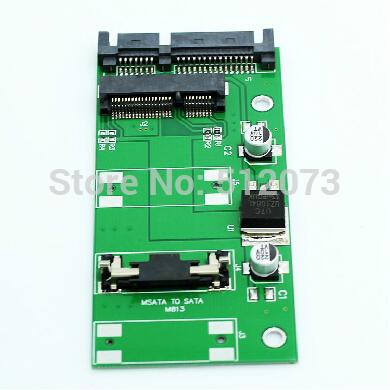 Free Shipping MINI PCIe to SATA mSATA to SATA adapter SSD card 7+15pin SATA to USB2.0 cable MSATA to USB2.0 Group(China (Mainland))