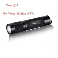 Fenix E12 Cree XP-E2 LED 3 Mode 130 lumens Flashlight by 1 * AA Battery Mini Torch + Free Shipping