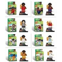 world cup Football building blocks sets Minifigures Bricks toys gift Champions League