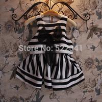 Summer new style fashion stitching net veil dress children fashion cute baby girls dress pretty cute dresses sundress