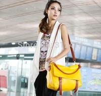 Women messenger bag PU leather shoulder bag free shipping