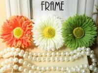 Cosmos holiday flower head flower corsage hair accessories flower hair clips ear clip a small beach side folder