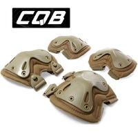 CQB Transformers Generation 2 outdoor climbing sports goggles military tactics kne 4 Set Live CS field equipment free shipping