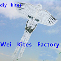 free shipping high quality diy kite teaching phoenix kite  with handle line best price trainer wei kites factory