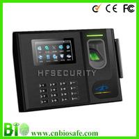 High Class  Professional Biometric Fingerprint Time Attendance and Access Control Bio800 GPRS/Wifi  Password Pins Reader