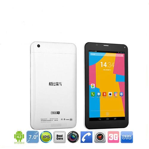 Cube Talk 7x 4: U51GT C4, 7 Inch IPS 3G Phone Tablet PC MTK8382 Android 4.2 Quad Core 1GB/8GB dual sim, Bluetooth, GPS, OTG(China (Mainland))