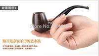 Free shipping ebony pipe Manual filter pipe bending type pipe