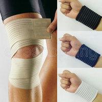 S301 High Quality elastic bandage 4 colors 40*7CM wristband knee sport bandage wrapped Safety support Self-Adherent Wrap Bandage