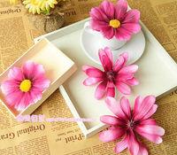 Beaches essential Japanese hair accessories hairpin purple petal flower brooch side chuck