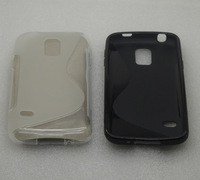 2X  Soft S-Line TPU Gel Case for  Samsung Galaxy S5 mini SM-G800 G800