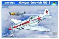 Trumpeter 02230 1/32 MiG-3   Assembled model  model building Assembled model