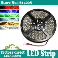 500m 5050 smd led strip light single color waterproof 300leds/ reel 5m/reel flexible dhl free shipping
